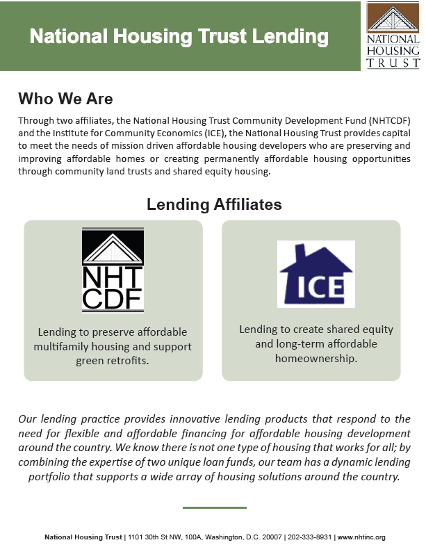 About NHT Lending
